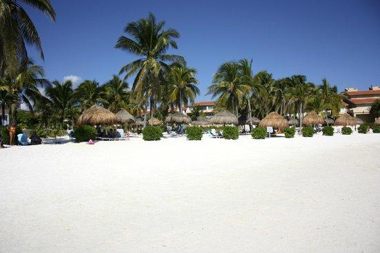 Villas Del Mar:                   Looking at VDM from the beach