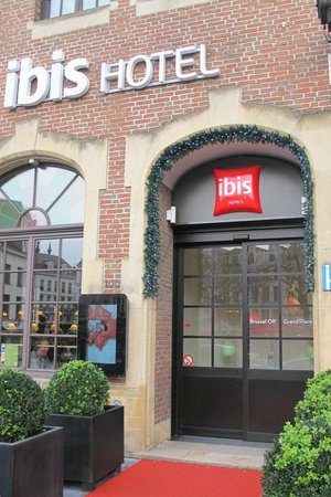 Ibis Brussels off Grand Place: Exterior