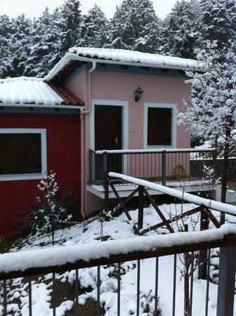 Ilaeira Mountain Resort: Ilaeira's villas dressed in... white!