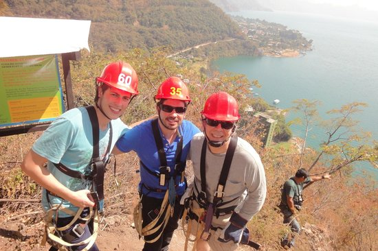 Hotel Reserva Natural Atitlán:                   the view from the hike