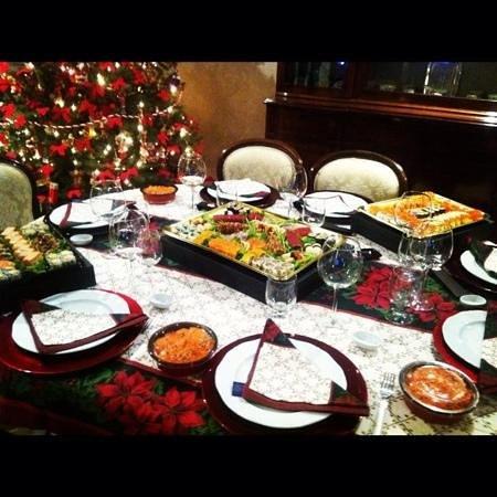 Cena Di Natale.Cena Di Natale A Base Di Sushi Box Del Jorudan Picture Of
