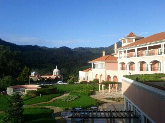 Penha Longa Resort:                   view from balcony