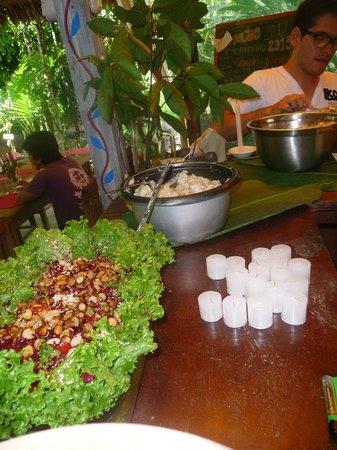 Ecoaldea Kapievi: Comida saludable