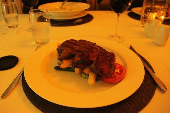 Ginger:                   Steak