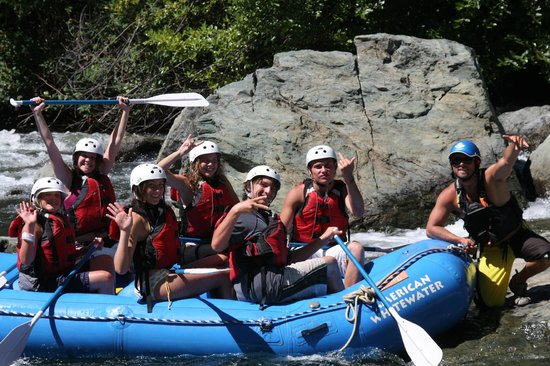 American Whitewater Expeditions: Jess and his Crew