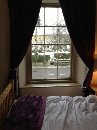 The Barge Inn: The view from the bigger room