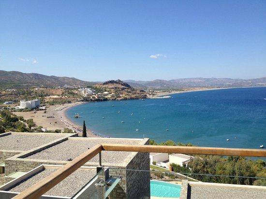 Lindos Blu:                   View