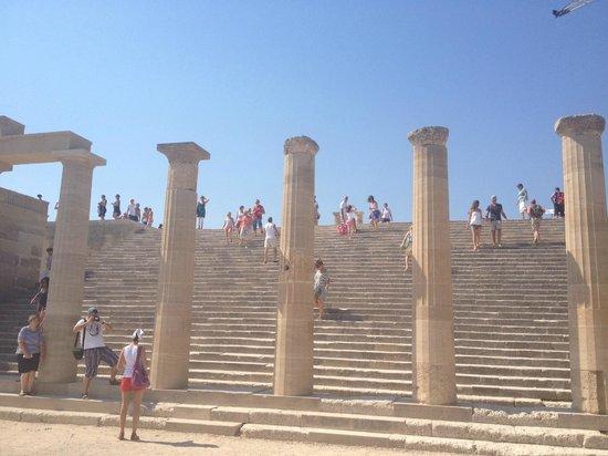 Lindos Blu:                   Acropolis