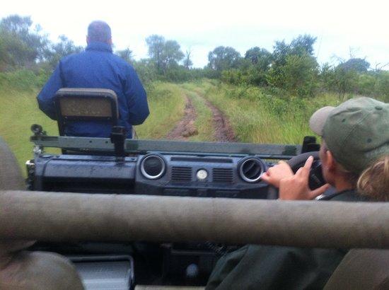 Tydon Safari Camp:                   Gavin and Debbie