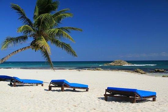 Hemingway Romantic Eco Resort: The beach in front.