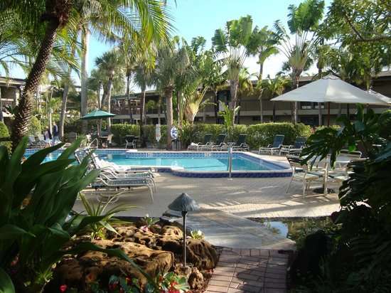 BEST WESTERN Naples Inn & Suites: Just outside our room