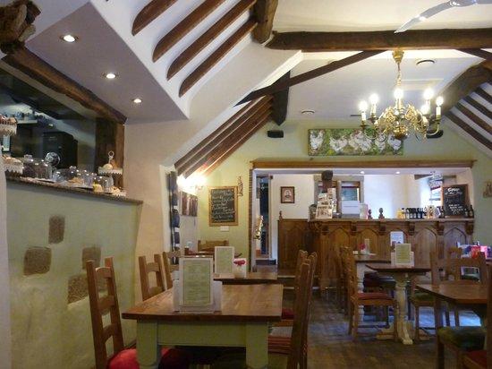 Original Bakewell Pudding Shop:                   The restaurant