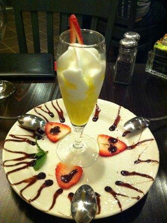 Casa Nostra: Limoncello Semifreddo dessert