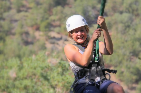 Rogue Valley ZipLine Adventure: End of ZipLine 5