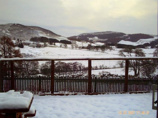 Dalnoid Holiday Cottages: view from the patio/decking/balcony