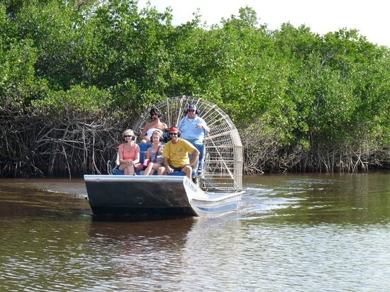 Everglades City Airboat Tours: The airboat