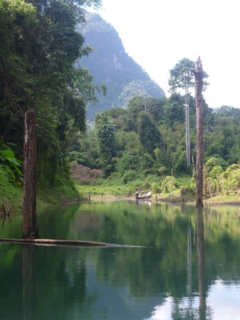 Khao Sok Las Orquideas Resort:                   Lake Tour