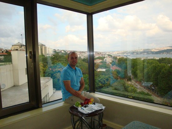 Swissotel The Bosphorus:                   east tower room number:917