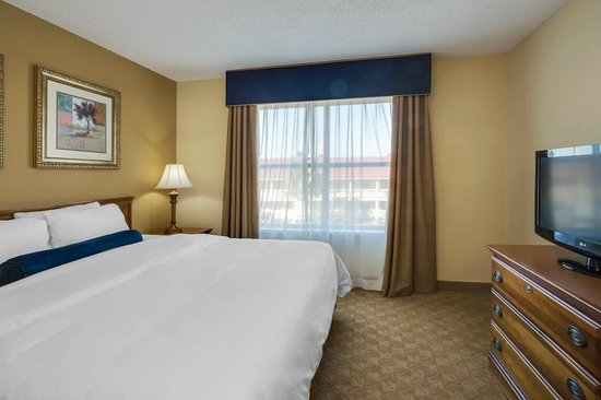Country Inn & Suites by Radisson, Jacksonville, FL : Bedroom of One Bedroom Suite!!