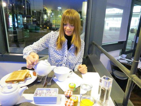 Novotel Paris Les Halles: Desayuno