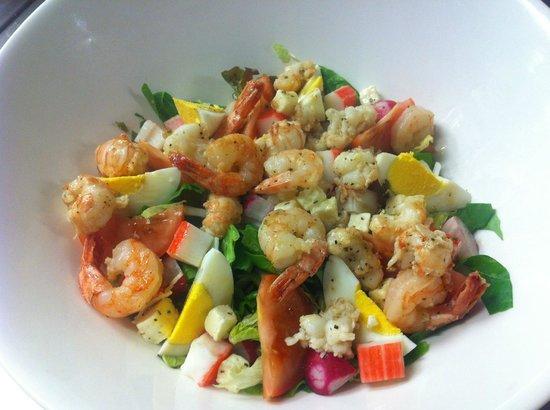 Gamla Kaupfelagid: Seafood salad