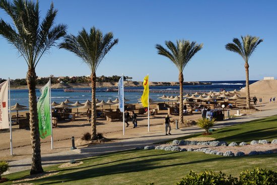 Jaz Dar El Madina: Strand