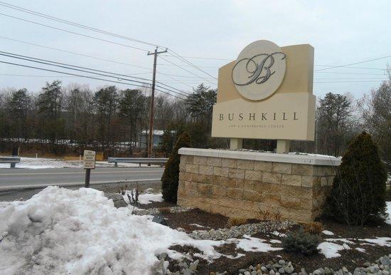 Bushkill Inn & Conference Center:                   Outside