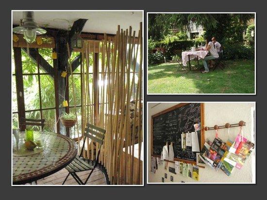 Luxhof chambres d'Hotes : jardin, jardin d'hiver, informations touristique à votre service