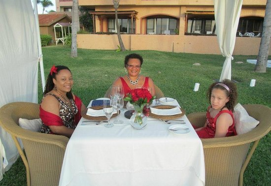 Cilantro's:                   Garden Dinner