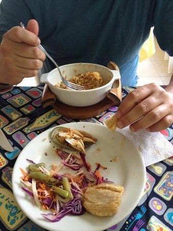Caribbean Place Donde Martin: arroz bacano