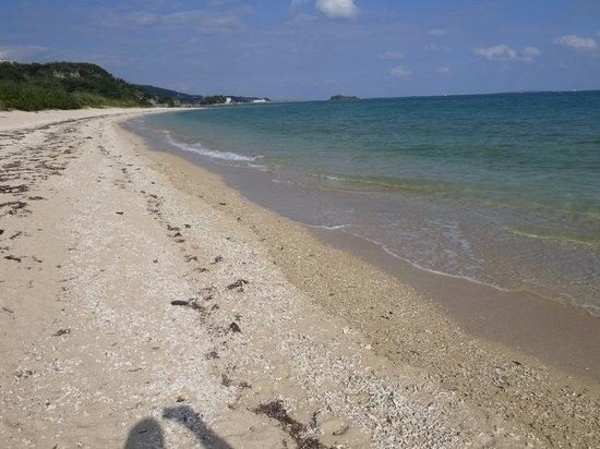 Shimajiri-gun, Japonya: ビーチは長いです