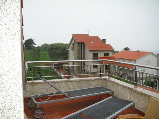 Capricho de Bascuas: Terraza
