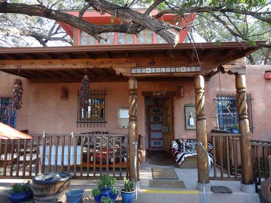 Inn at Halona: Veranda