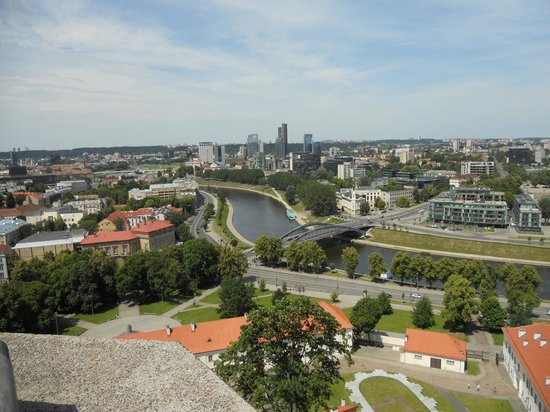 Algirdas City Hotels:                   город, вид с высокого здания