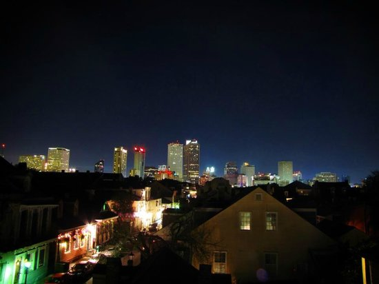 Best view of New Orleans. Lafitte Guest House