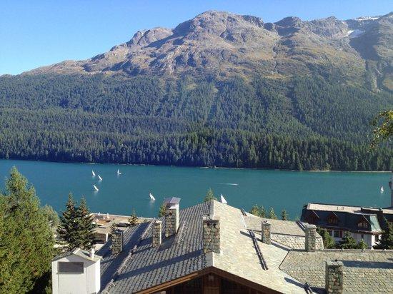 Hotel Languard: vista camera