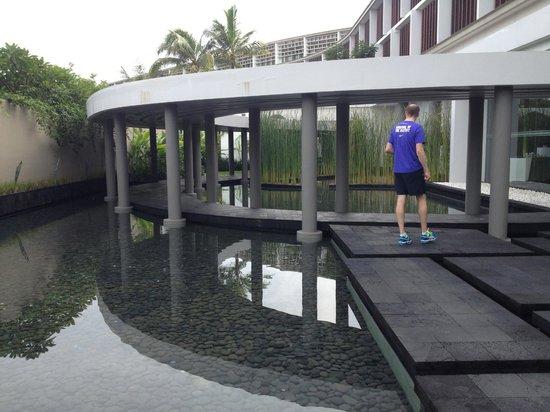 W Bali - Seminyak:                   Outside spa