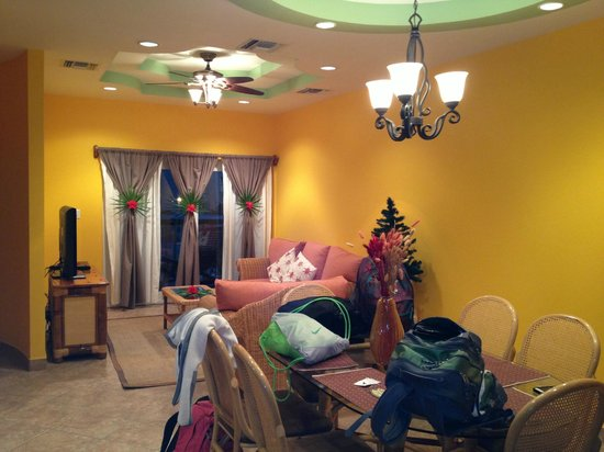 Grand Caribe Belize Resort and Condominiums:                   Living Area