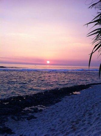 WB Villa : tramonto