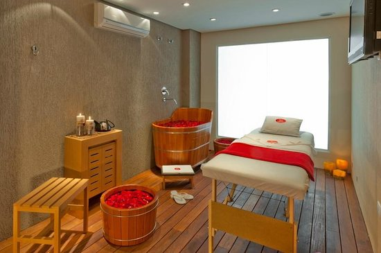 Four Points by Sheraton Curitiba: Spa