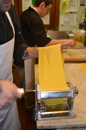 The Inn at Weathersfield: pasta making