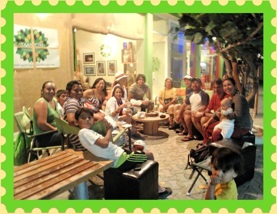 Yaaxche Galeria y Cafe: nice place to meeting friends, Yaaxche is in the heart of the Island.