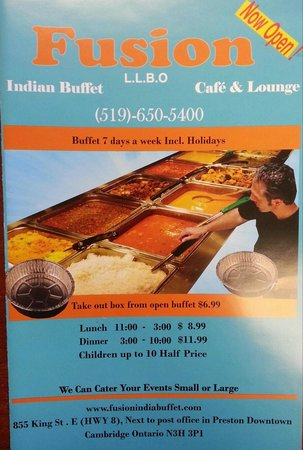 Fusion Indian Buffet and Cafe Lounge