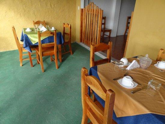 Hotel Verde Azul: Desayunador