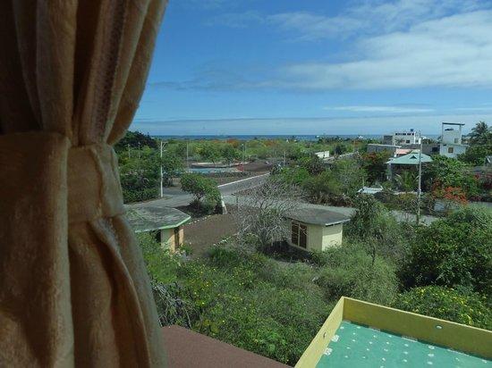 Hotel Verde Azul: Vista desde una de las ventanas de la habitacion