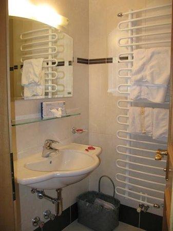 Huber's Boutiquehotel:                   bathroom