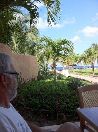 Allegro Cozumel: Déjeuner avec vue sur la mer au Club