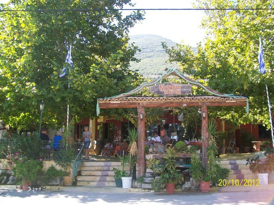 Alykanas Village Hotel:                   train trip