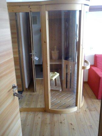 Vitalhotel Rainer: Sauna in camera