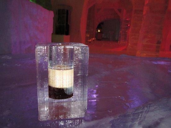 Hotel de Glace:                   A drink ?